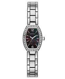 Caravelle Women's Stainless Steel Bracelet Watch 18x24mm