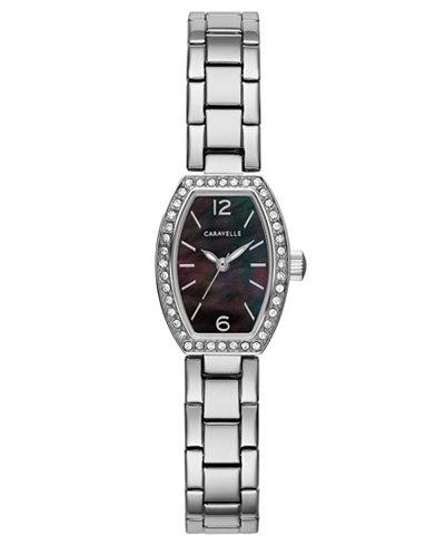 Caravelle Women's Stainless Steel Bracelet Watch 18x24mm