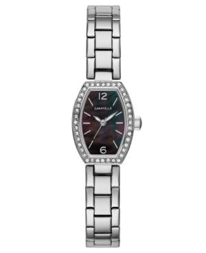 Designed by Bulova Women's Stainless Steel Bracelet Watch 18x24mm