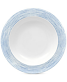 Noritake Blue Hammock Pasta Bowl, Created for Macy's