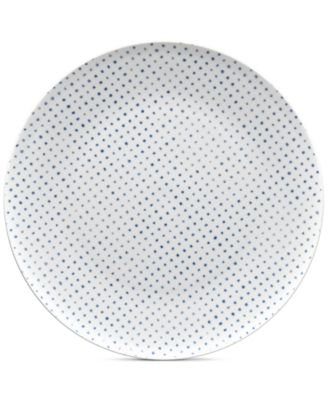 Blue Hammock Coupe Dots Dinner Plate, Created for Macy's