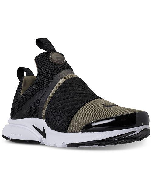 318355493e179e Nike Big Boys  Presto Extreme Running Sneakers from Finish Line ...