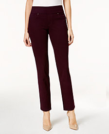 Charter Club Cambridge Pull-On Slim-Leg Jeans, Created for Macy's