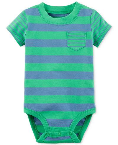 Carter's Striped Cotton Bodysuit, Baby Boys