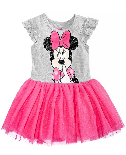 2d58bfeae Disney Minnie Mouse Graphic Dress, Baby Girls & Reviews - Dresses ...