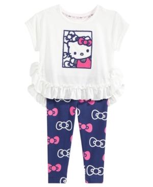 Hello Kitty 2-Pc. Ruffled...