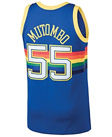 Men's Dikembe Mutombo Denver Nuggets Hardwood Classic Swingman Jersey