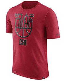Nike Men's Chicago Bulls Dri-FIT Driblend Cityscape T-Shirt