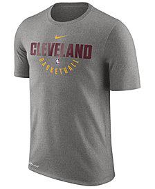 Nike Men's Cleveland Cavaliers Dri-FIT Cotton Practice T-Shirt