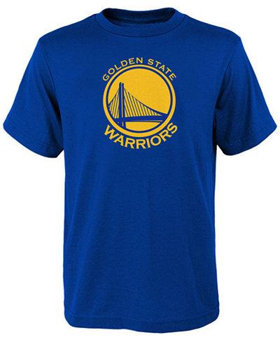 adidas Golden State Warriors Primary Logo T-Shirt, Little Boys (4-7)