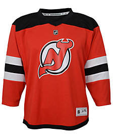 Authentic NHL Apparel New Jersey Devils Blank Replica Jersey, Big Boys (8-20)