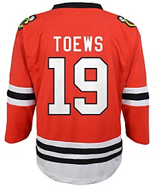 Authentic NHL Apparel Jonathan Toews Chicago Blackhawks Player Replica Jersey, Little Boys (4-7)