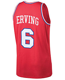 Mitchell & Ness Men's Julius Erving Philadelphia 76ers Hardwood Classic Swingman Jersey