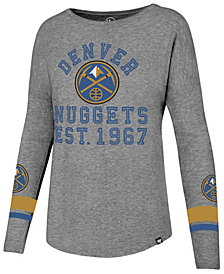 '47 Brand Women's Denver Nuggets Encore Long Sleeve T-Shirt