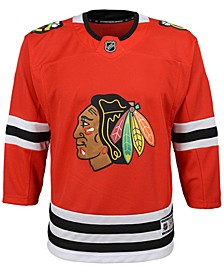 Chicago Blackhawks Premier Blank Jersey, Big Boys (8-20)