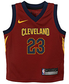 Nike Lebron James Cleveland Cavaliers Icon Replica Jersey, Little Boys (4-7)