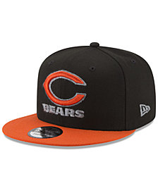 New Era Chicago Bears Heather Pop 9FIFTY Snapback Cap