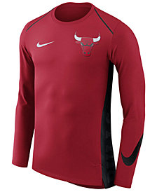 Nike Men's Chicago Bulls Hyperlite Shooter Long Sleeve T-Shirt