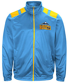 G-III Men's Sports Denver Nuggets Broad Jump Track Jacket