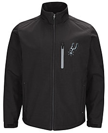 G-III Sports Men's San Antonio Spurs Soft Shell Full-Zip Jacket