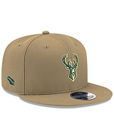 New Era Milwaukee Bucks Basic Link 9FIFTY Snapback Cap
