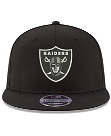 Oakland Raiders Team Color Basic 9FIFTY Snapback Cap