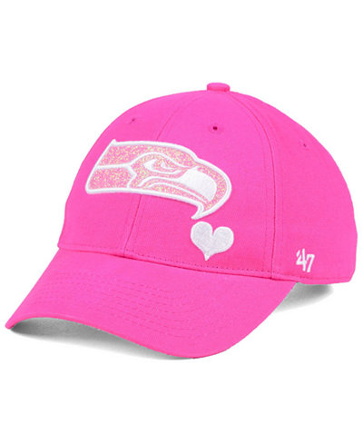 '47 Brand Girls' Seattle Seahawks Sugar Sweet MVP Cap