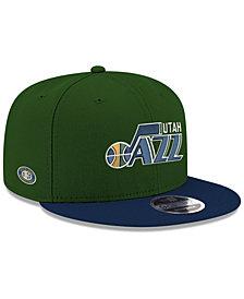 New Era Utah Jazz Basic Link 9FIFTY Snapback Cap