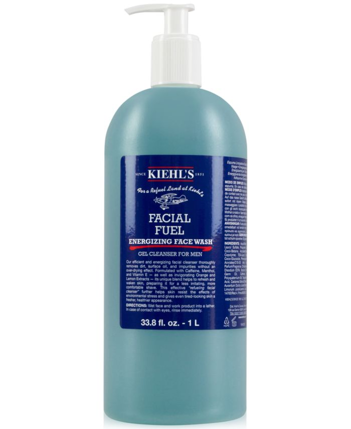 Kiehl's Since 1851 Facial Fuel Energizing Face Wash, 33.8 fl. oz. & Reviews - Skin Care - Beauty - Macy's