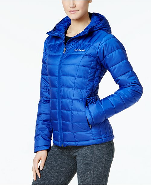 Columbia Pacific Post Hooded Puffer Jacket - Jackets   Blazers ... 98428ee4804a