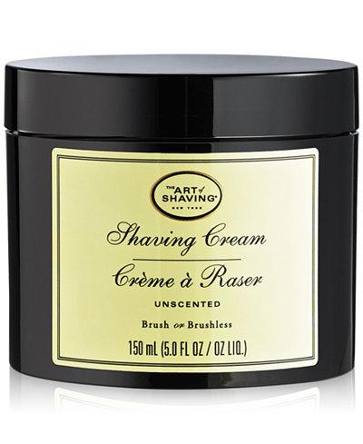 The Art of Shaving Men's Unscented Shaving Cream, 5 oz.