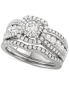 Diamond Bridal Set (1-5/8 ct. t.w.) in 14k White Gold