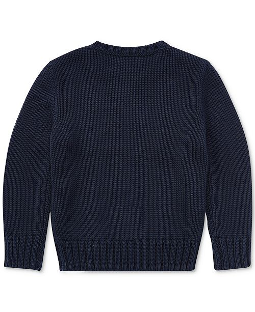 Polo Ralph Lauren Toddler Boys Cotton Sweater Sweaters