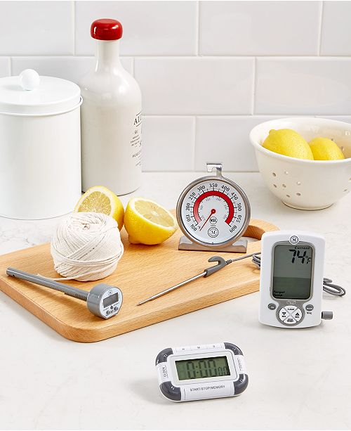 Martha Stewart Collection Good Tools for Time & Temperature, Created for Macy's