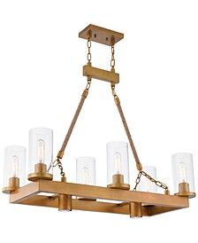 Metuchen 8-Light Linear Chandelier