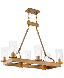 Livex Metuchen 8-Light Linear Chandelier