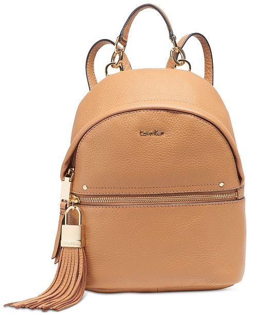 899d7b85cdd Calvin Klein Lynn Backpack & Reviews - Handbags & Accessories ...