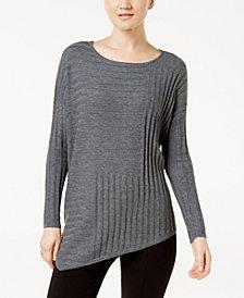 I.N.C. Asymmetrical Sweater, Created for Macy's