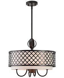 Livex Arabesque 4-Light Pendant