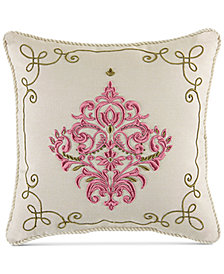 "Croscill Giulietta 16"" x 16"" Fashion Decorative Pillow"
