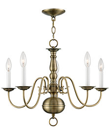 Livex Williamsburg 5-Light Chandelier