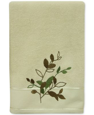 Sheffield Cotton Embroidered Bath Towel