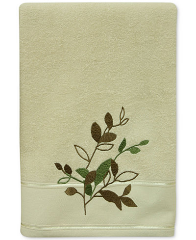 Bacova Sheffield Cotton Embroidered Bath Towel