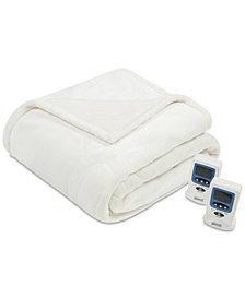 Beautyrest Heated Plush Twin Blanket