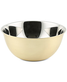 CLOSEOUT! Thirstystone Small Brushed Gold Finish Bowl