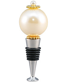 Thirstystone Imitation Pearl Wine Bottle Stopper