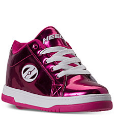 Heels Big Girls' Split Chrome Skate Casual Sneakers from Finish Line