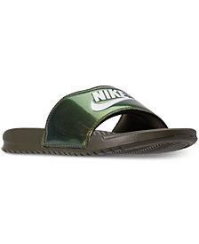 Nike Men's Benassi Just Do It-Print Slide Sandals from Finish Line