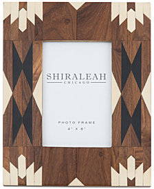 Shiraleah 4'' x 6'' Picture Frame with Navajo-Inspired  Inlay
