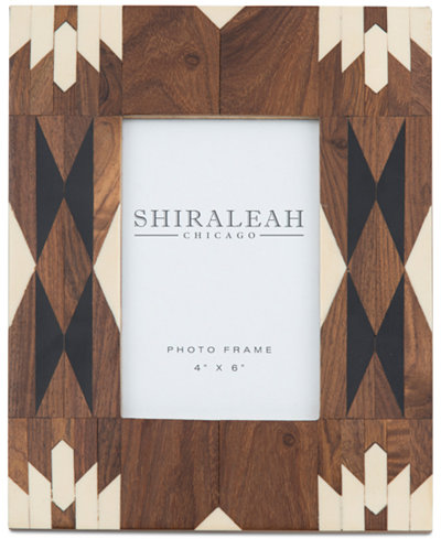 Shiraleah 4\'\' x 6\'\' Picture Frame with Navajo-Inspired Inlay ...